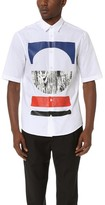 McQ by Alexander McQueen Alexander McQueen Short Sleeve Sheehan Tribal Shirt