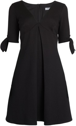 Bailey 44 QB Tie-Cuff Flare Dress