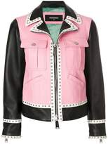 DSQUARED2 panelled jacket