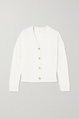Allude Cashmere Cardigan - White