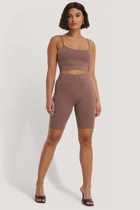 NA-KD Organic Slim Short Tights