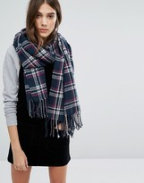 Jack Wills Oversized Check Scarf