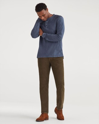 7 For All Mankind Corduroy Slim Chino in Fatigue
