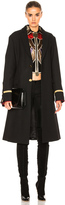 Givenchy Canvas Wool Coat