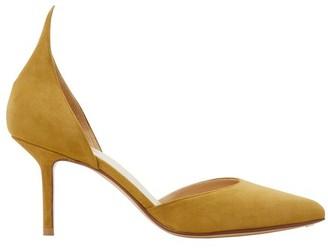 Francesco Russo D'Orsay leather pumps