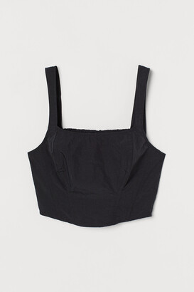 H&M Corset-style Top