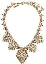 Oscar de la Renta Teardrop Framed Crystal Statement Collar Necklace
