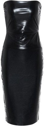 Norma Kamali Strapless midi dress