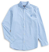 Chaps Solid Woven Sport Shirt