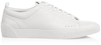 HUGO BOSS Pebbled Tennis Sneakers
