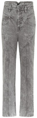 Isabel Marant Exclusive to Mytheresa Anastasia high-rise straight jeans