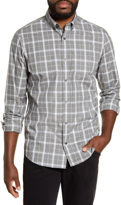 Nordstrom Regular Fit Non-Iron Check Button-Down Shirt