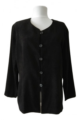 Mulberry Black Polyester Jackets