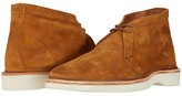 Frye Paul Light Chukka (Bronze Brown Two-Tone Suede) Men's Lace-up Boots
