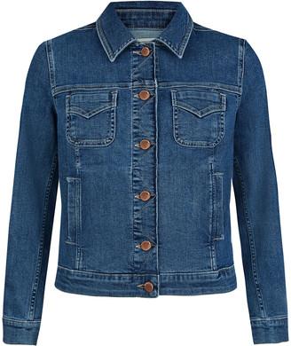 Under Armour Denim Jacket Blue
