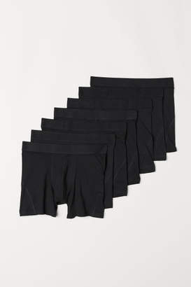 H&M 7-pack Boxer Shorts - Black
