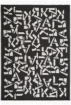 Karl Lagerfeld Alphabet Throw