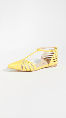 Rosie Assoulin Mary Jane Lattice Sandals