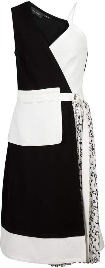 Yigal Azrouel asymmetric apron dress
