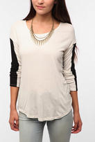 Urban Outfitters Daydreamer LA Long-Sleeved Colorblock Tee