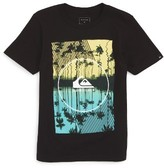 Quiksilver Boy's Mirror Graphic T-Shirt