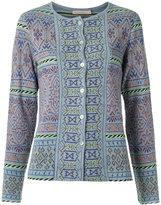 Cecilia Prado knit cardigan - women - Acrylic/Lurex/Viscose - P