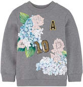 Dolce & Gabbana Sweatshirt with embroidered 'Ortensia'