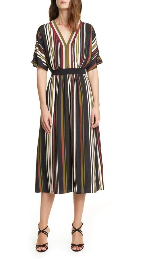 Ted Baker Safiiya Stripe Short Sleeve Dress