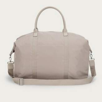 The White Company Nylon Weekender Bag, Taupe, One Size