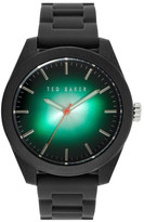 Ted Baker Silicone Strap Watch, 43mm