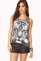 Forever 21 fresh tiger tank