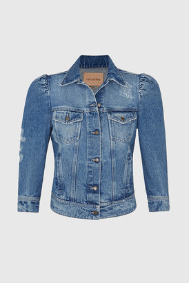 Stone Island Retrofete Vintage Blue Ada Jacket Worn