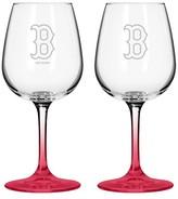 MLB Boelter Brands 2 Pk Wine Glass Set - 12 oz