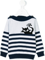 Fendi striped jumper