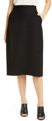 Eileen Fisher Wool Lantern Skirt