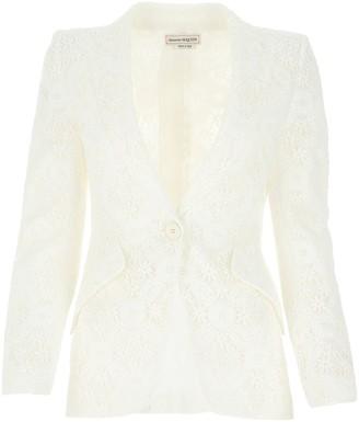 Alexander McQueen Endangered Flower Lace Jacket