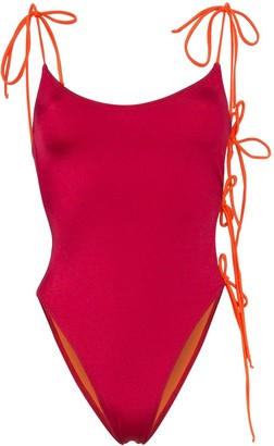 ACK Tintarella Flirt tie side swimsuit