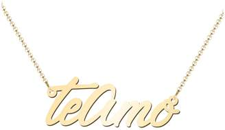 Amo Jewlr 14K Yellow Gold Te Necklace