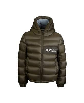 Moncler Enfant Aiton Padded Jacket Colour: KHAKI, Size: Age 4
