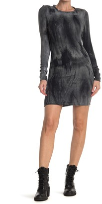 Velvet Torch Long Sleeve Ribbed Knit Bodycon Dress