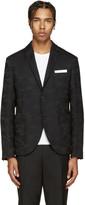 Neil Barrett Black Camo Blazer