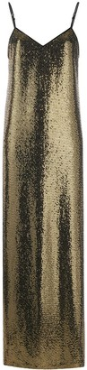 Gucci Sequin-Embellished Long Dress