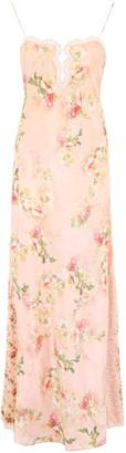 Alberta Ferretti Floral Slip Dress