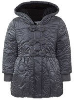 Little Marc Jacobs Grey Quilted Puffer Coat