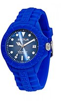 Sector Men's Quartz Watch with Sub Touch Analog Quartz Silicone R3251580013