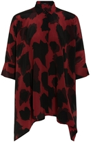 Gucci Print Oversized Shirt