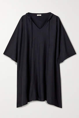 Eres Hooded Cashmere Poncho - Black