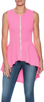 Cleo Pink Flow Top