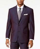 Sean John Men's Classic-Fit Plum Sport Coat