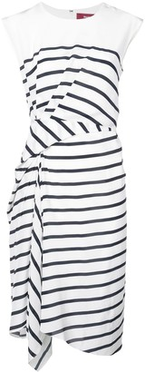 Sies Marjan Striped Midi Dress